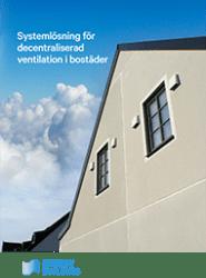 Energy Building - Decentraliserad ventilation 2018