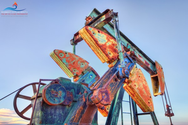 Texas Oil and Gas Fine Art Paintings