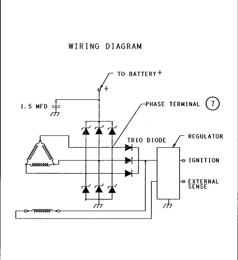 medium resolution of  alternator delco remy 19020609