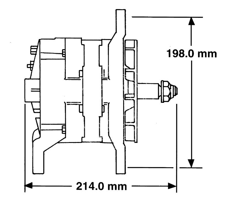 Alternator PERKINS CH11087 and its equivalences