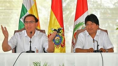 Photo of Energía, el principal tema en la reunión entre los presidentes de Bolivia y Perú