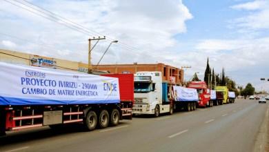 Photo of Llega material para tuberías del Proyecto Hidroeléctrico Ivirizu