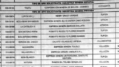 Photo of Denuncian que la ALP aprobó 207 contratos mineros en un día