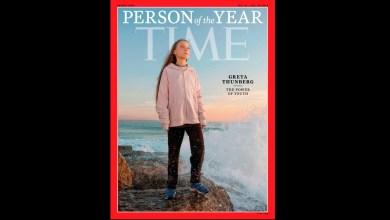 """Photo of Greta Thunberg fue elegida como la """"persona del año"""" por la revista Time"""