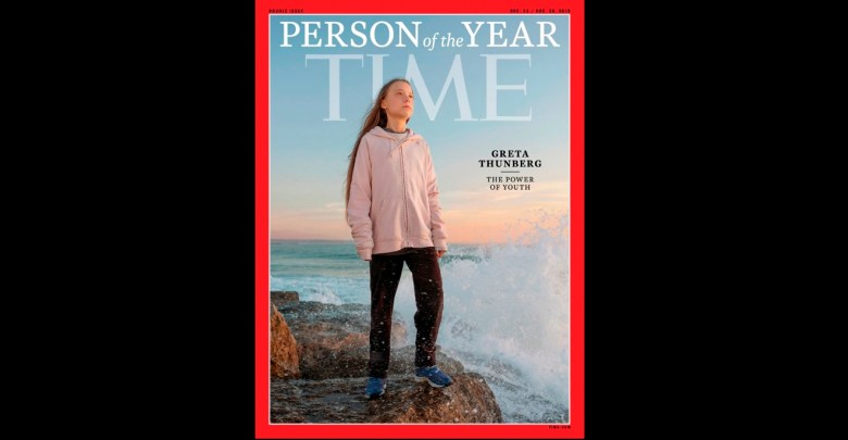 "Photo of Greta Thunberg fue elegida como la ""persona del año"" por la revista Time"