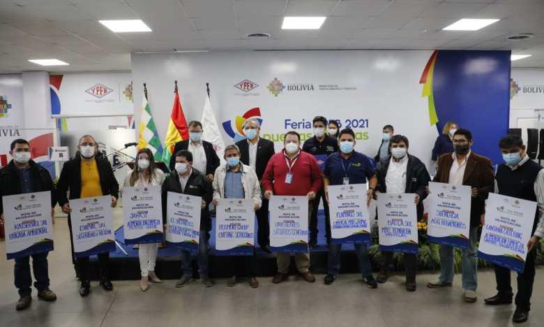 Photo of Feria de YPFB promueve la inyección de $us 45 MM