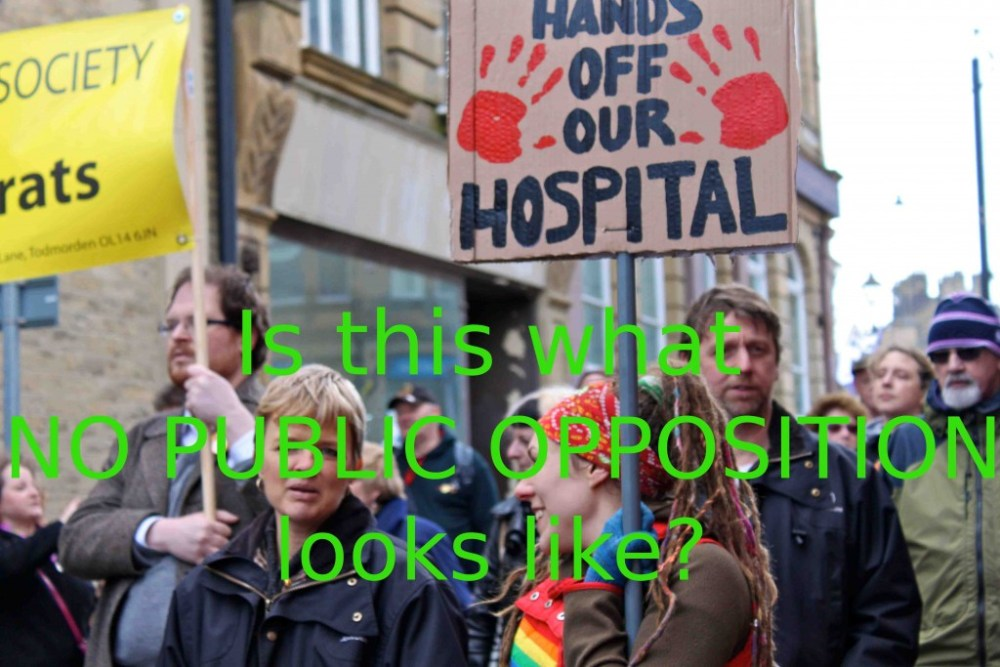 Calder Valley NHS Vanguard - fast tracking the 5 year plan to dismantle the NHS (2/2)