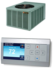 Rheem progressive heating and air for Most economical heating system