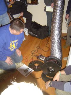 Duct Leakage Testing Is Required By The New Georgia Energy Code For All Ducts Outside The Building Envelope.