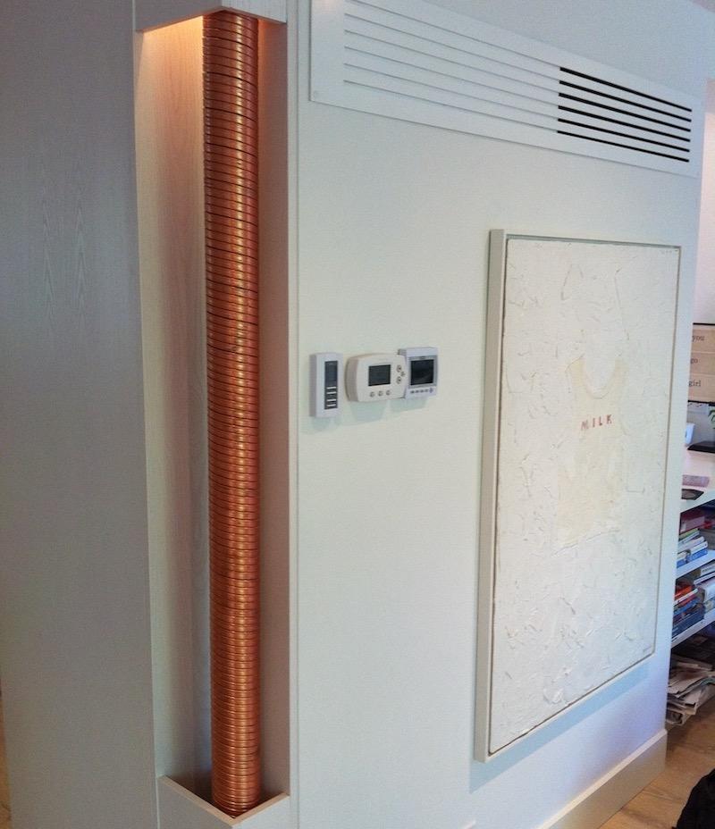 Drainwater Heat Recovery Improves Water Heating Efficiency