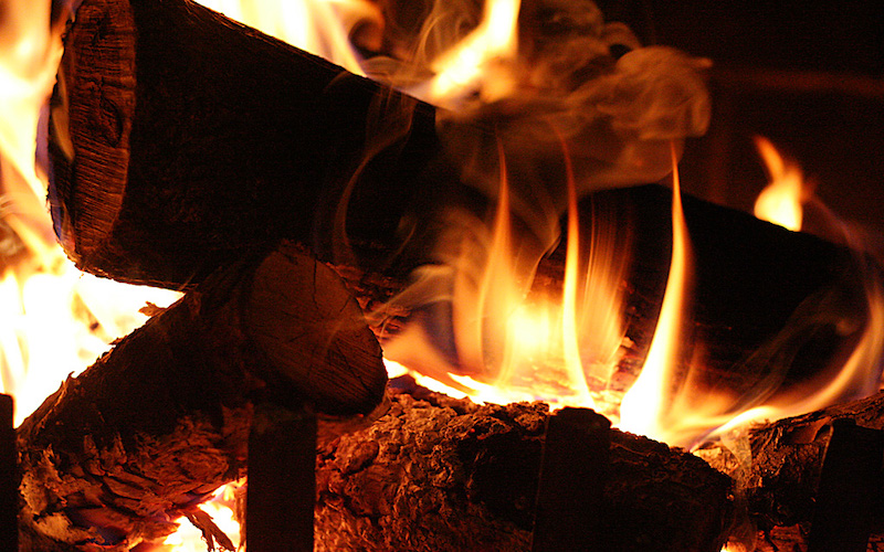 Fireplaces Produce Exhaust Gases. If They're Not Vented Outdoors, You're Breathing Them.