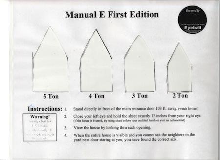 Manual E Load Calculation