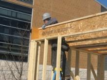 Advanced Framing Single Top Plate Ohio State Solar Decathlon House
