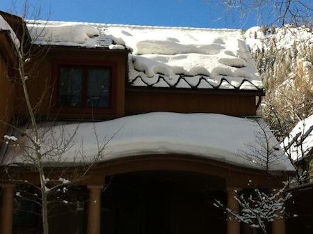 Building Enclosure Ice Dam Icicle Snow Melt Heat Strip Aspen