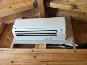 Powered Attic Ventilator Mini Split Heat Pump 2