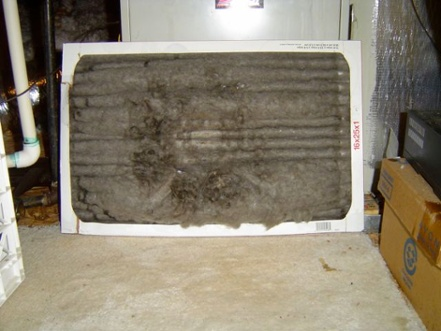 Air Conditioner Hvac Filter Wrong Way Evaporator Coil Frozen 1