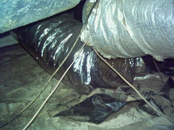 Disconnected Duct Unbalanced Supply Leakage