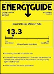 Heat Pump Efficiency Ratings - SEER & HSPF