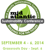 Mid Atlantic Sustainability Conference Logo 2014
