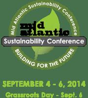 Mid Atlantic Sustainability Conference Logo 2014