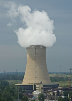 Nuclear Power Plant Cooling Tower Energy Efficiency Sources