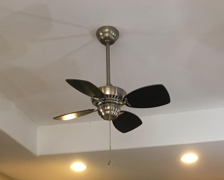 Ceiling-fan-short-blade-length-low-efficacy