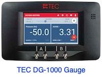 TEC DG-1000 digital gauge