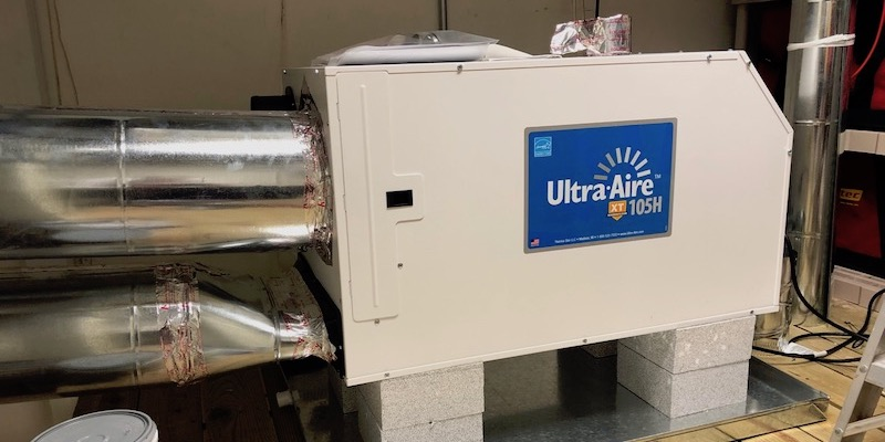 Ventilating dehumidifier Ultra-Aire