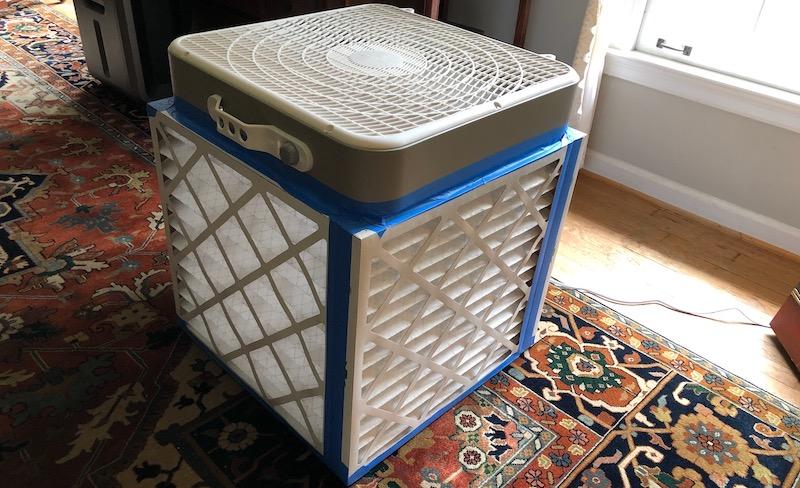 High-MERV Portable Air Cleaner