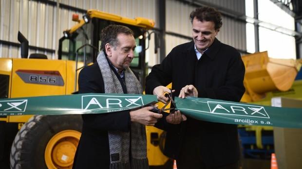 Arcillex inauguración