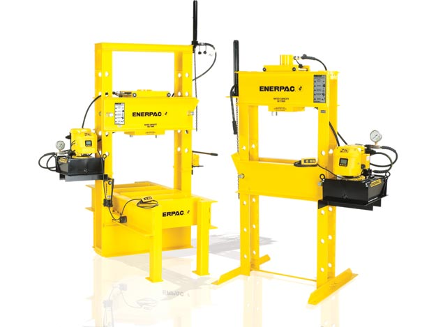 medium resolution of hydraulic presses industrial shop press enerpac portapress portable drill press drawing diagram and description