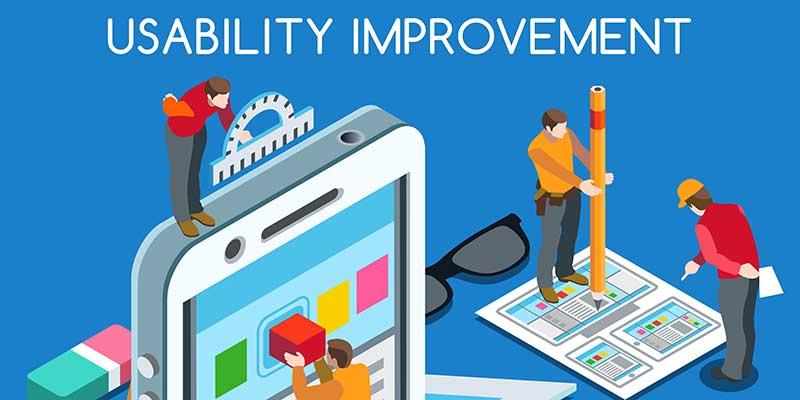 Usability Improvements for a Client Portal