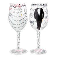 Bride & Groom Wedding Gift Set : Enesco