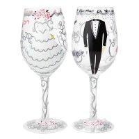 Bride & Groom Wedding Gift Set : Enesco