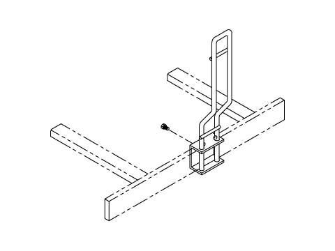Cable Rack Post