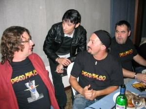 Charly, Yildori, Tony y Javi