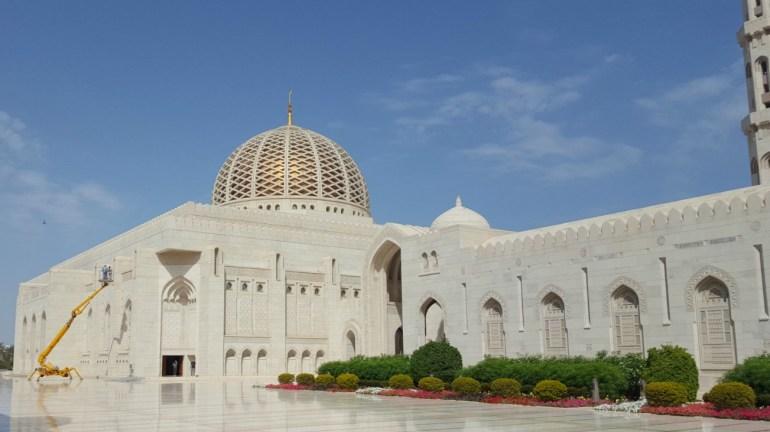 Sultan Qaboos Grand Mosque i Muscat, Oman