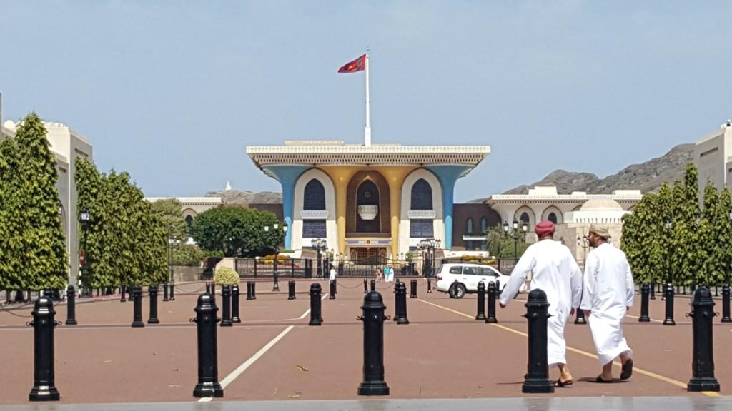 Sultan Qaboos Palads i Muscat i Oman