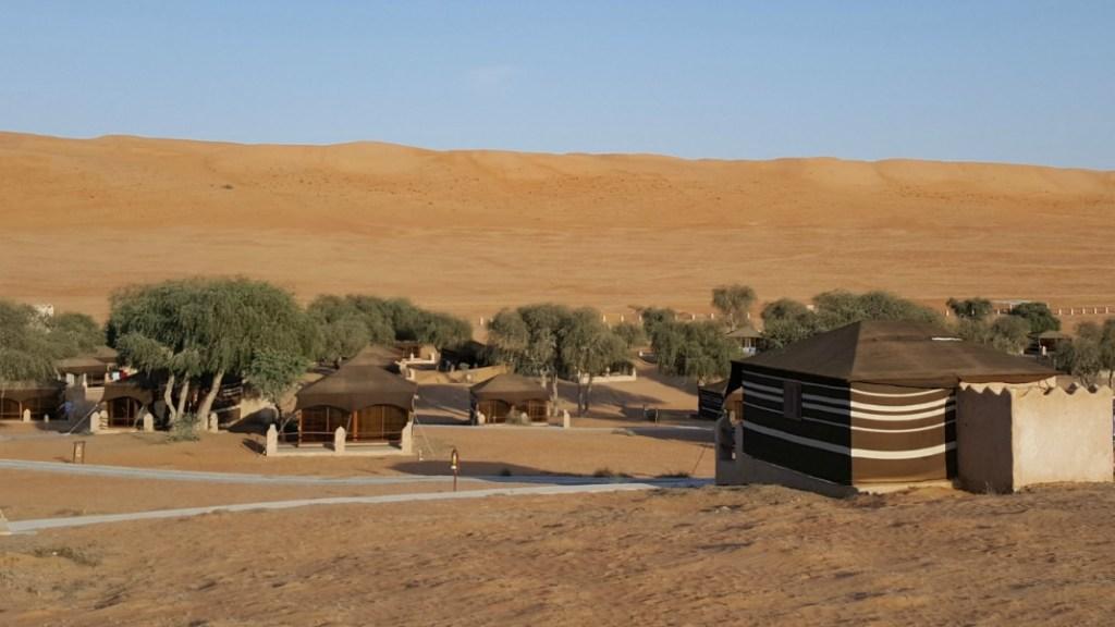1000 Nights Camp i Wahiba Sands, Oman