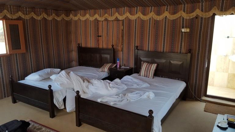 Telt i 1000 Nights Camp i Wahiba Sands I Oman