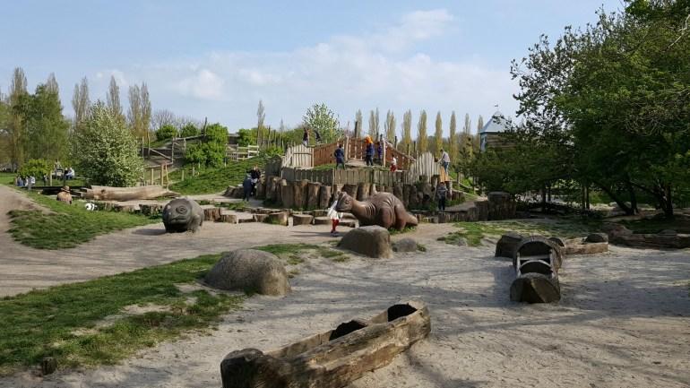 Legepladsen i Valby Parken