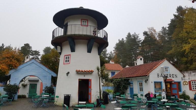 Tårnet i Kardemommeby i Dyreparken