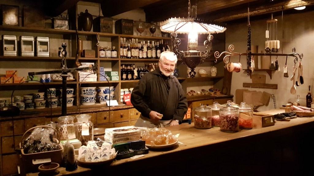 Købmanden i Den Gamle By i Århus