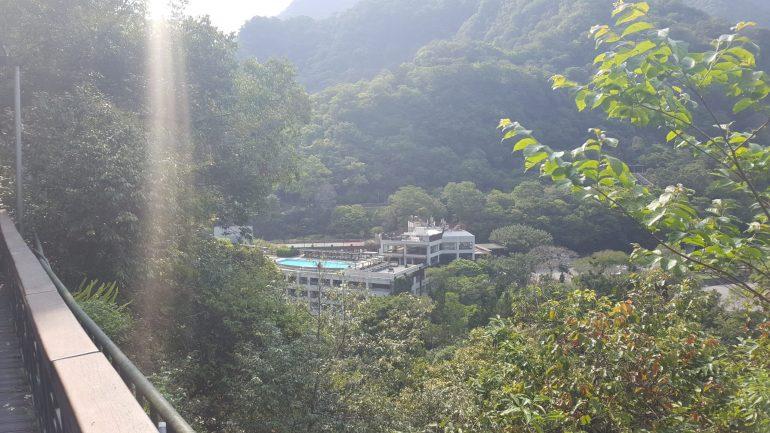 Taroko Gorge Roof top pool