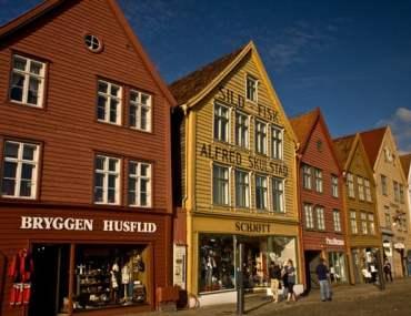 Bergen-Norvege bryggen