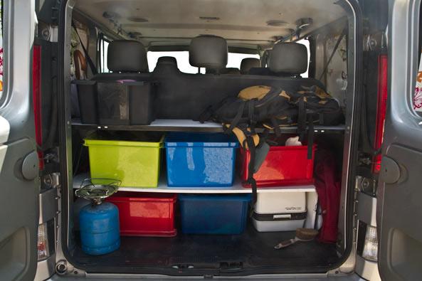 am nagement fourgon en camping car avec un petit budget voyage en famille avec enfants et week. Black Bedroom Furniture Sets. Home Design Ideas