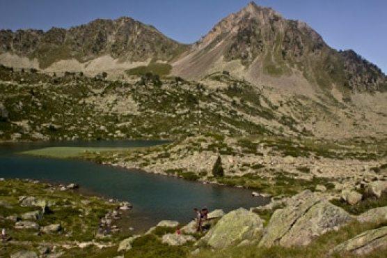 lac -des Pyrenees-lac blanc
