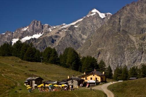 Randonnée famille italie mont blanc week end enfant