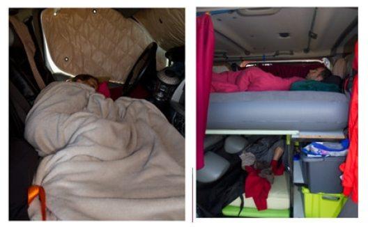 fourgon am nag en camping car avec un petit budget voyage en famille avec enfants. Black Bedroom Furniture Sets. Home Design Ideas