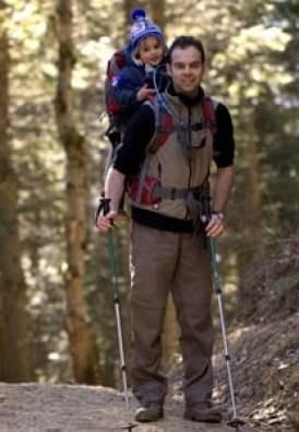 randonnée avec porte bébé